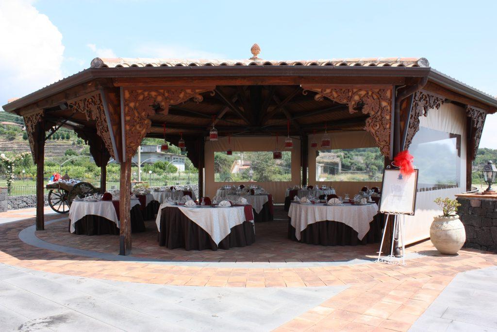 Villa Giuffrida Il Gazebo intarsiato
