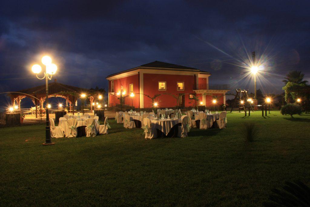 Ricevimenti Catania : Villa Giuffrida Ricevimenti sul prato