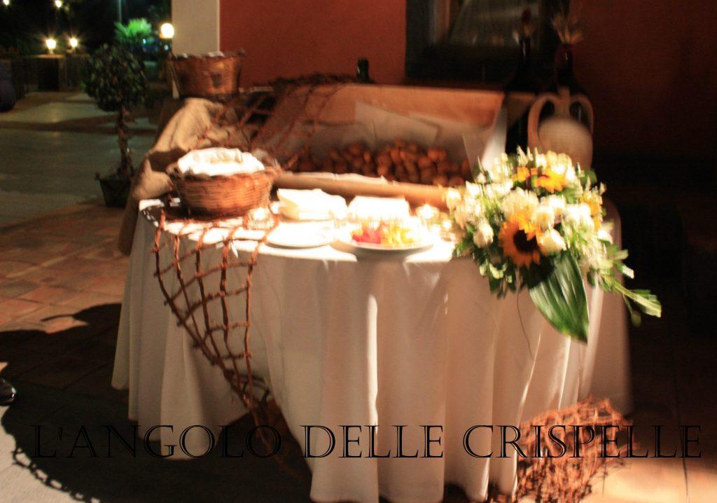 Villa Giuffrida Zafferana Etnea : L'angolo delle crispelle