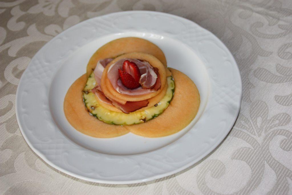 Villa Giuffrida Zafferana Etnea prosciutto e melone